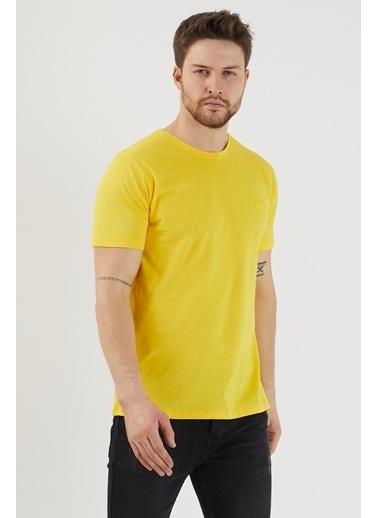 Slazenger Slazenger SANDER Erkek T-Shirt Sarı Sarı